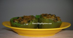 Stuffed Bell Pepper (Bharwan Shimla Mirch)