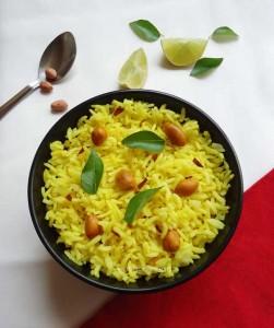 lemon rice recipe, elumichai sadam, nimmakaya pulihora, nimbu chawal