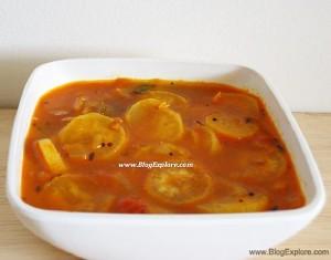 radish kuzhambu, mullangi kuzhambu recipe