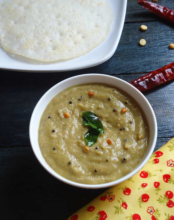 pudalangai chutney recipe, snake gourd chutney recipe
