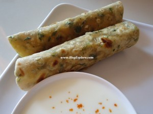 methi paratha, fenugreek paratha