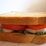 mint chutney sandwich, pudina chutney sandwich