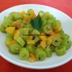 Beans Carrot Poriyal / Beans and Carrot Sabzi