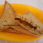 Aloo Masala Sandwich (Potato Sandwich)