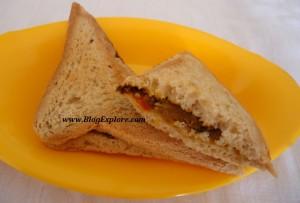 potato masala sandwich, aloo masala sandwich, urulai kizhangu sandwich, masala sandwich, aloo sandwich, breakfast recipe, snack