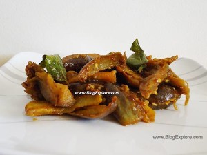 brinjal fry, kathirikkai poriyal, baingan sabzi recipe
