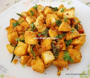 Masala Idli with Leftover Idli