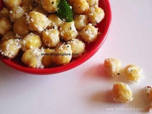 Chickpeas Sundal | Kondakadalai Sundal