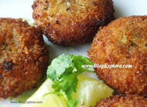 paneer cutlet recipe, cottage cheese cutlet recipe, indian snack recipe