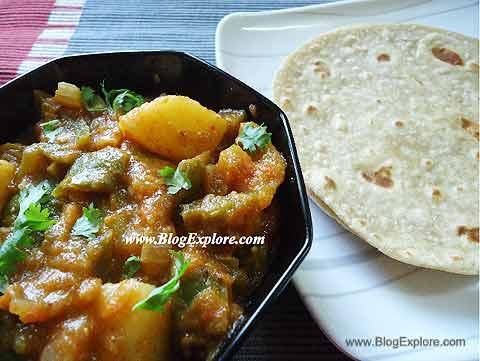 Aloo Shimla Mirch Curry | Potato Capsicum Curry