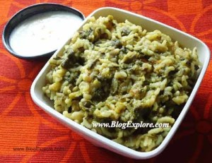 simple palak khichdi recipe, spinach moong dal khichdi recipe, keerai pasi paruppu sadam recipe