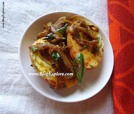 Boiled egg fry indian recipes blogexplore boiled egg fry recipe masala anda fry muttai fry recipe forumfinder Images