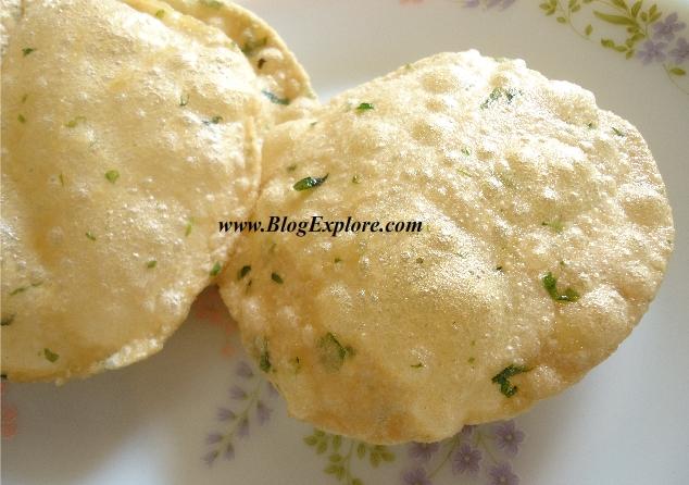 Methi Poori Recipe Puri Fenugreek Leaves Vendhaya Keerai