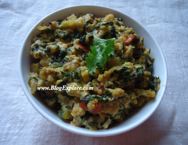 Palak paneer bhurji scrambled cottage cheese with spinach indian scrambled spinach cottage cheese recipepalak paneer bhurji recipe forumfinder Gallery