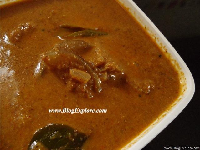 theeyal, kerala brinjal gravy recipe, kerala curry recipes, kerala ...