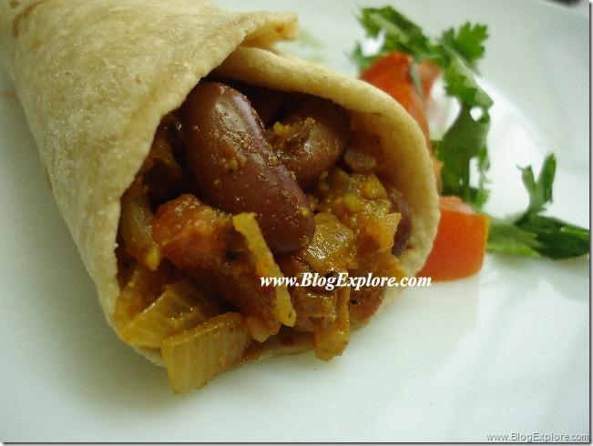 blogexplore.com-rajma-kidney-beans-roti-wrap