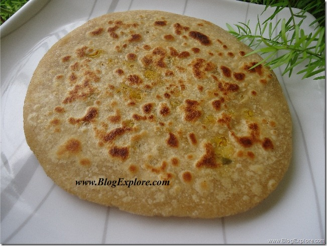 stuffed chana dal paratha recipe, split bengal gram dal paratha, north indian paratha recipes, lentil stuffed paratha recipe