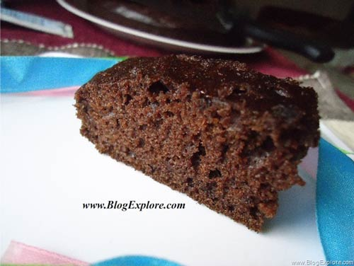 Easy Butterless Moist Chocolate Cake - Indian Recipes ...