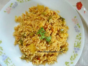 tawa pulao recipe, mumbai street food tawa pulao, leftover rice recipes indian