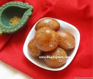 Bread Gulab Jamuns