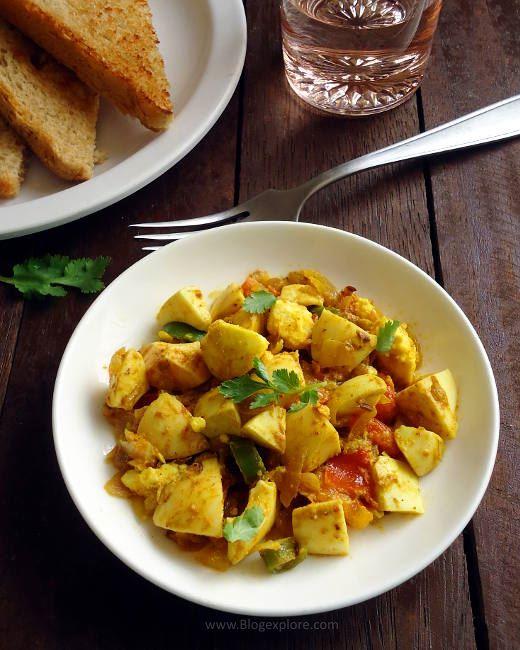 boiled egg bhurj recipe, boiled anda bhurji recipe