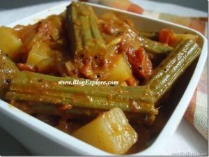 Drumstick Potato Curry