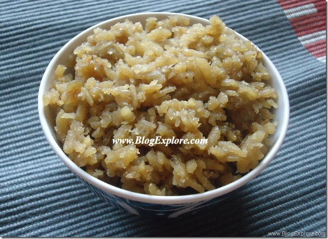 vella aval recipe, sweet poha recipe, sweetened rice flakes recipe