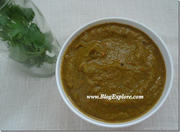 Kothamalli Thakkali Chutney | Coriander Tomato Chutney