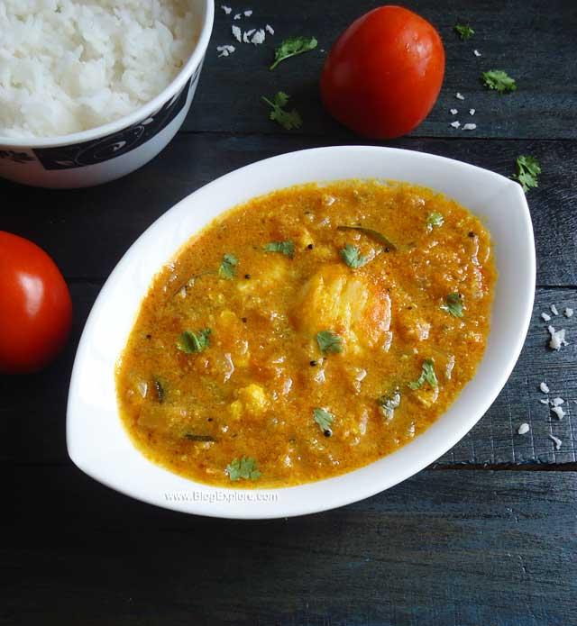 Muttai Kuzhambu Recipe Poached Egg Curry Recipe South Indian Style