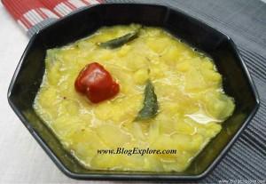 mamidikaya pappu recipe, andhra style raw mango dal recipe, aam ki dal recipe