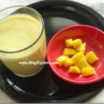 Mango Banana Milkshake