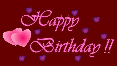 Free Happy Birthday Clip Art Graphics Happy Birthday Heart Clip Art