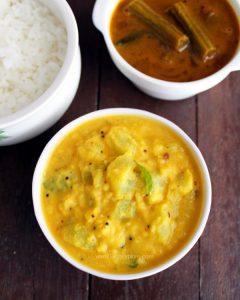 Chow Chow Kootu Recipe | Chayote Kootu