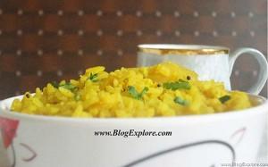 Aloo Poha | Batata Poha Recipe