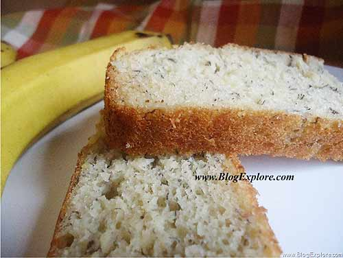 Low Fat Yogurt Cake Recipes: Easy Butterless Banana Cake - Indian