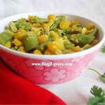 green beans chana dal curry recipe, green beans chana dal sabzi recipe, beans kadalai paruppu poriyal with coconut recipe