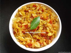 Cabbage Tomato Curry Recipe