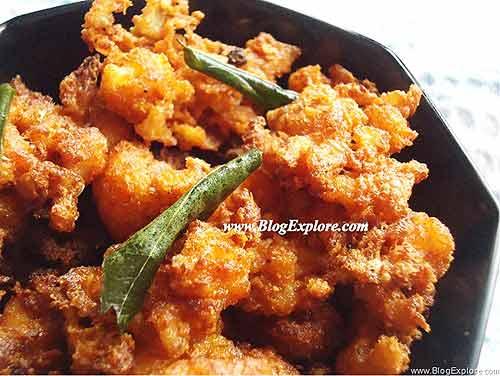 gobi 65 recipe, cauliflower65 recipe, indian cauliflower snacks recipe