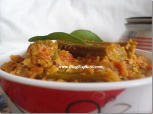 Murungakkai Poriyal | Drumstick Curry