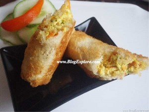 stuffed paneer bread rolls recipe, baked paneer bread rolls recipe, low fat bread rolls recipe