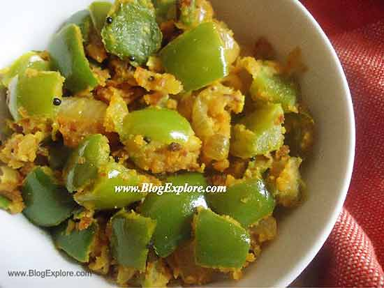 Capsicum zunka bell pepper zunka indian recipes blogexplore capsicum zunka maharashtrian shimla mirch zunka recipe forumfinder Image collections