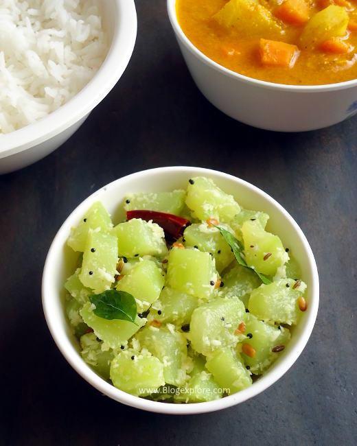 Chow Chow Poriyal recipe