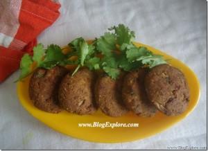 Baked Soya Cutlets