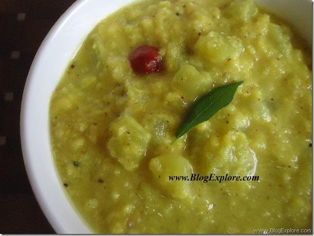 sorakkai kootu recipe, bottle gourd kootu recipe south indian