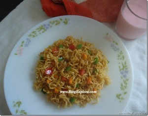 Maggi Noodles with Vegetables
