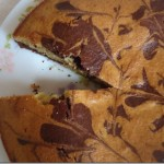 Whole Wheat Marble Cake