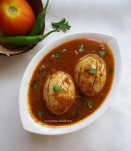 varutharacha egg curry recipe, varutharacha mutta curry recipe