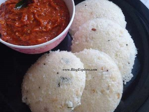 simple rava idli recipe