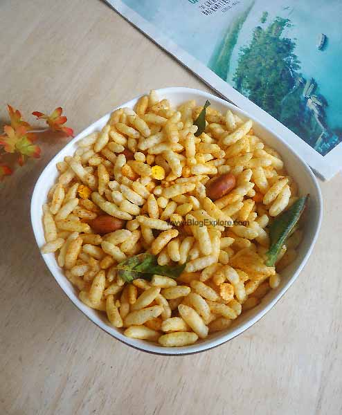 Murmura chivda puffed rice snack indian recipes blogexplore murmura chivda murmura chivda maharashtrian snack recipe puffed rice chivda recipe forumfinder Images