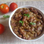rajma coconut curry, south indian style rajma coconut curry recipe,red kidney beans coconut curry recipe